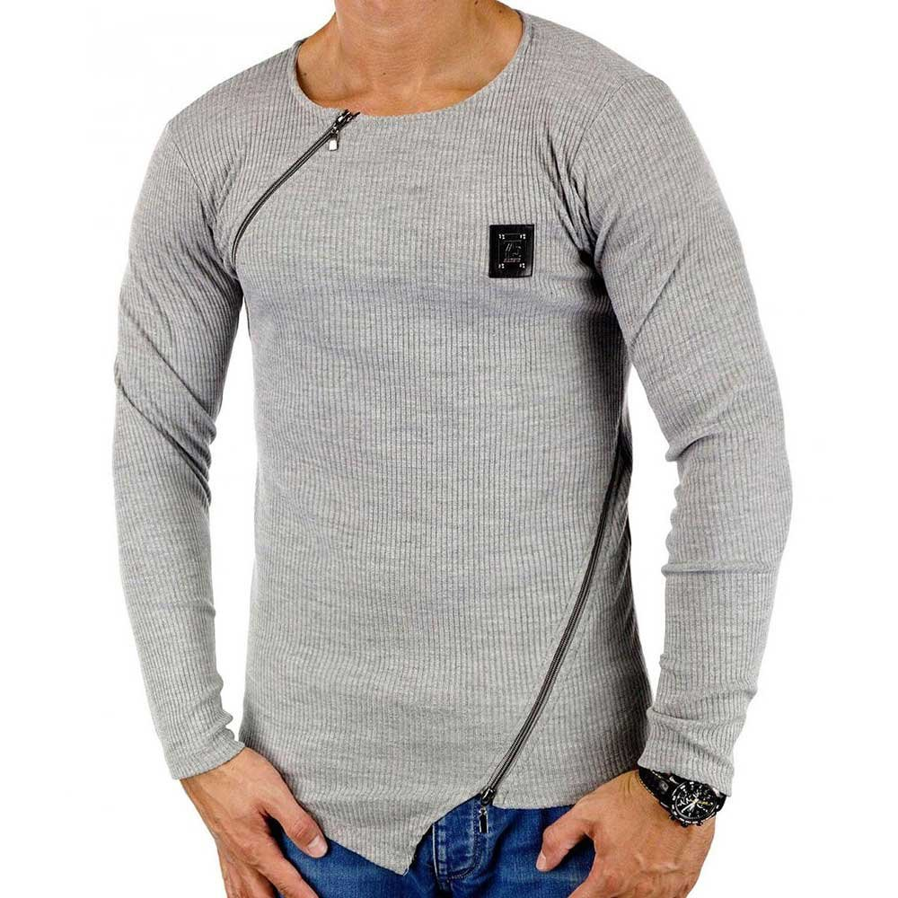 Pullover Herren BlackRock by Jeel Jeans Fein Strickpullover Club Jumper Pulli