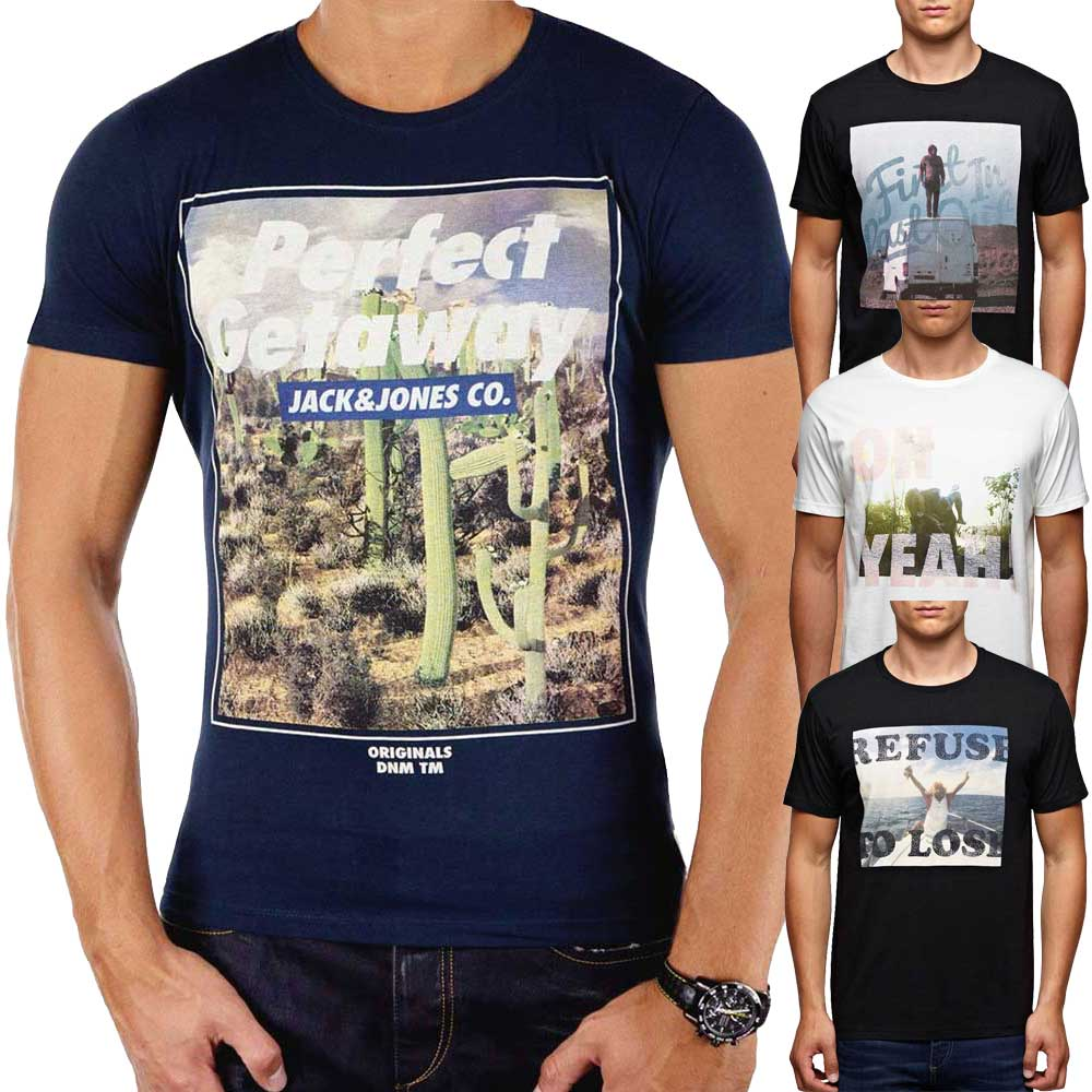 Logoprint T Shirt SALE   JACK & JONES   CORE MODE.DE