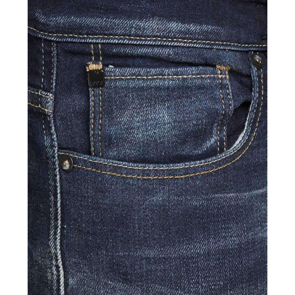 Jack /& Jones Herren Jeans MIKE 650 in Dunkelblau