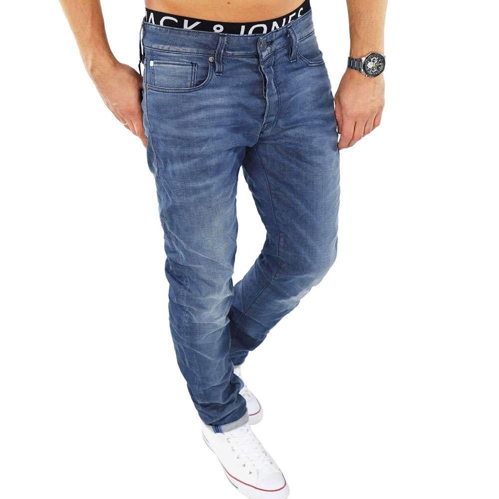 low priced 7c543 faba5 Jack & Jones Herren Jeans MIKE 859 Comfort in Blau
