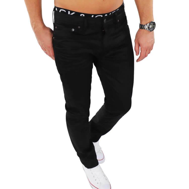 sale retailer 5261c 9e9a3 Jack & Jones Herren Jeans TIM 220 Schwarz
