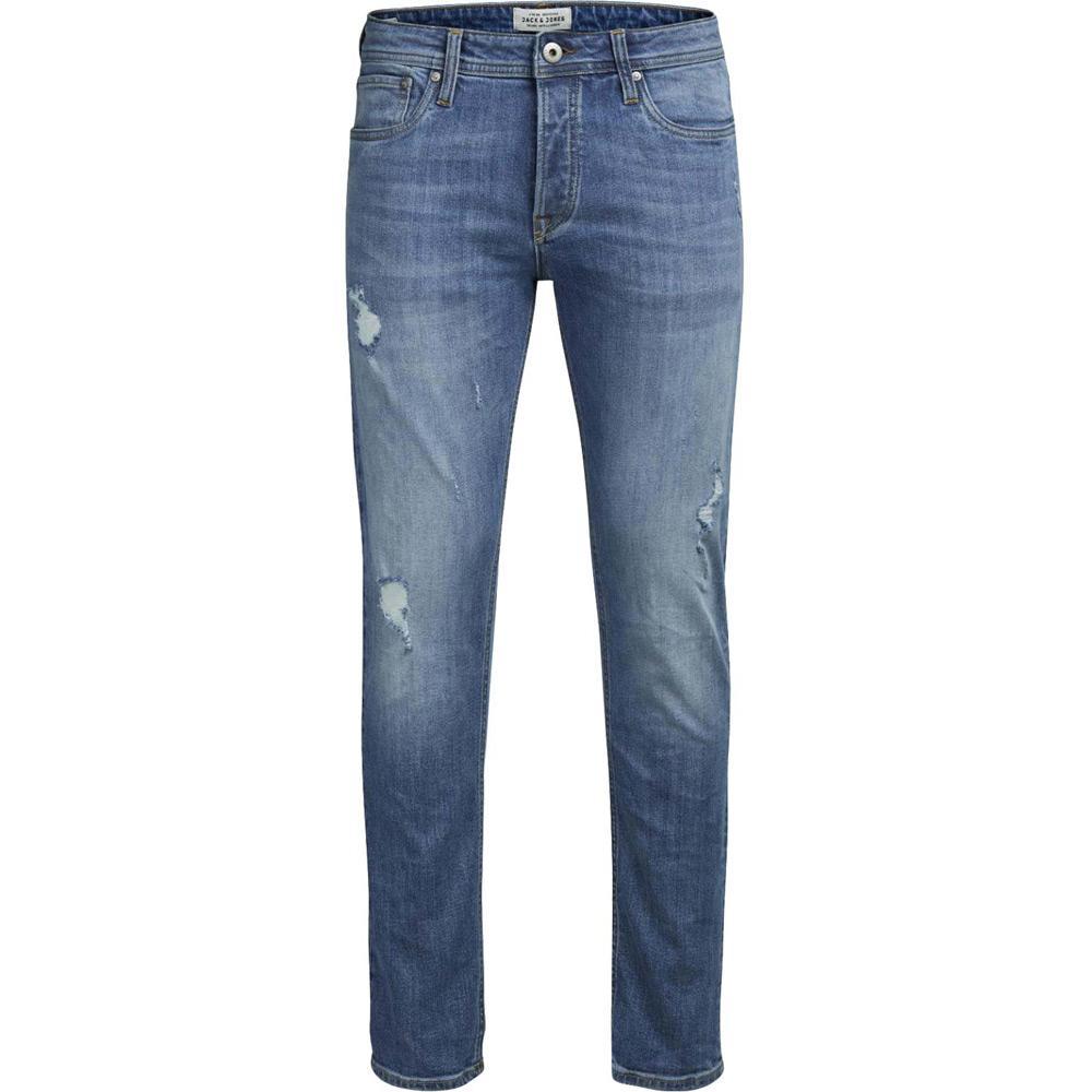 new product 24c11 92262 Jack & Jones Herren Jeans TIM 418 in Blau