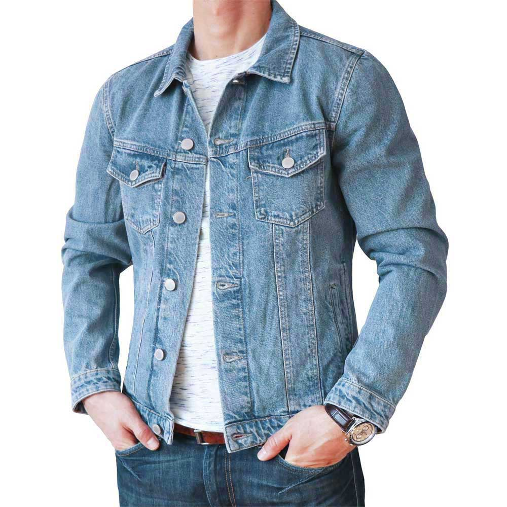 check out f2d96 cf38d Jack & Jones Herren Jeansjacke Jjialvin 299 in Hellblau
