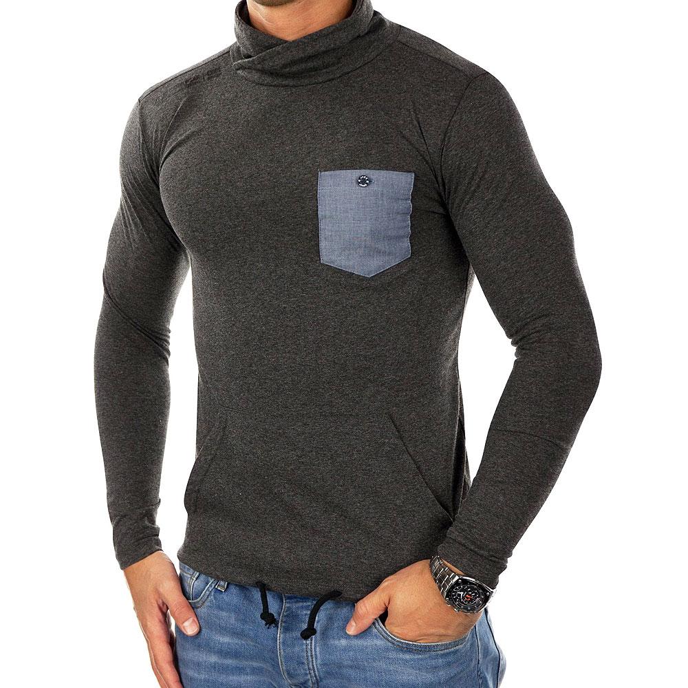 Jack & Jones Herren Langarmshirt Sweatshirt Jconew Ls Tee